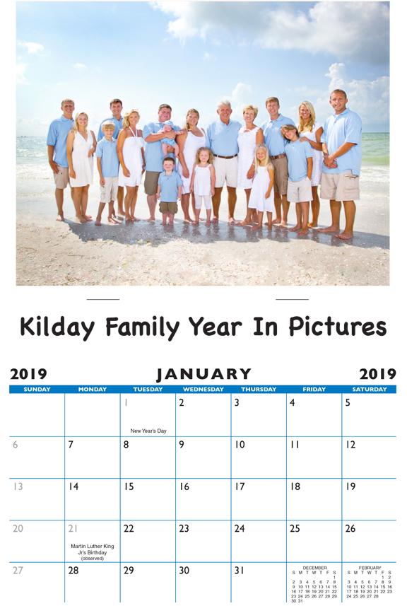 Personal Calendars 2020 2020 Personalized 13 Photo Calendar: Calendar Company