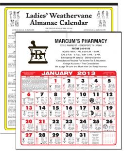 Pharmacy Calendars From Calendar Company