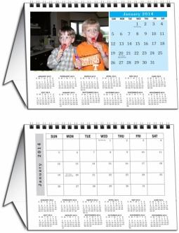 Custom  YOUR Photo Tent Desk Calendar.    sc 1 st  Calendar Company & Desk Calendars from Calendar Company