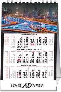 2019 Custom Picture Tent Desk Calendar  sc 1 st  Calendar Company & 2019 Custom Picture Tent Desk Calendar: Calendar Company