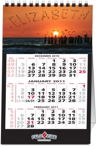 2019 Or 2020 Personalized Photo Name Small Desk Calendar