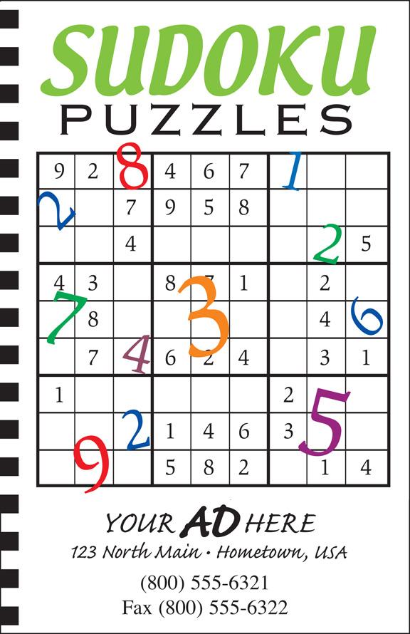 Sudoku Puzzle Book Calendar Company