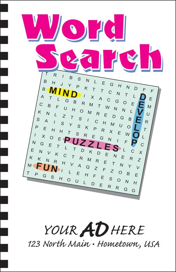 Word Search Puzzle Book: Calendar Company
