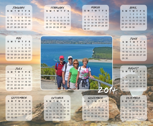Personalized Photo Calendars 2017 | Arts   Arts